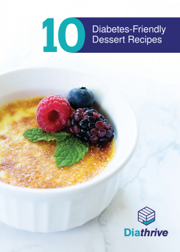 Diabetes-Friendly Desserts