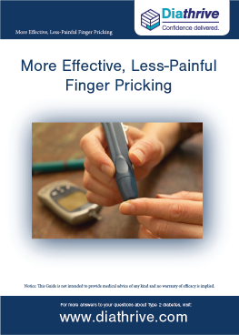 More Effective, Less Painful Finger Pricking