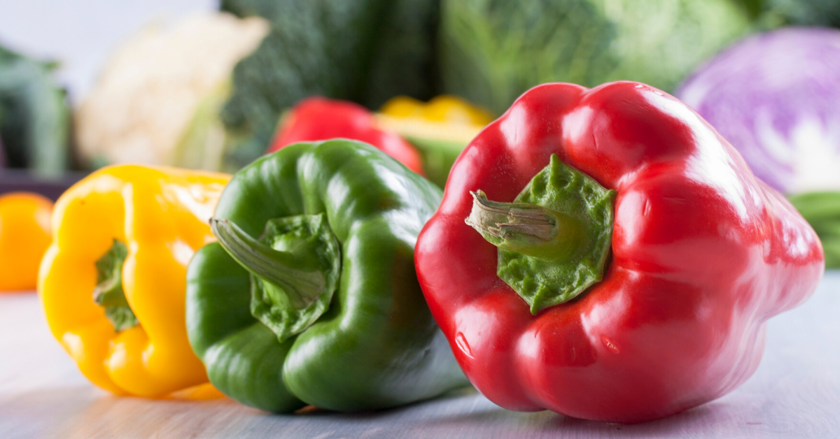 Bell peppers and non-starchy vegetables
