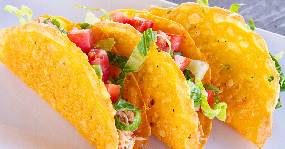 Cheese Shell Tacos