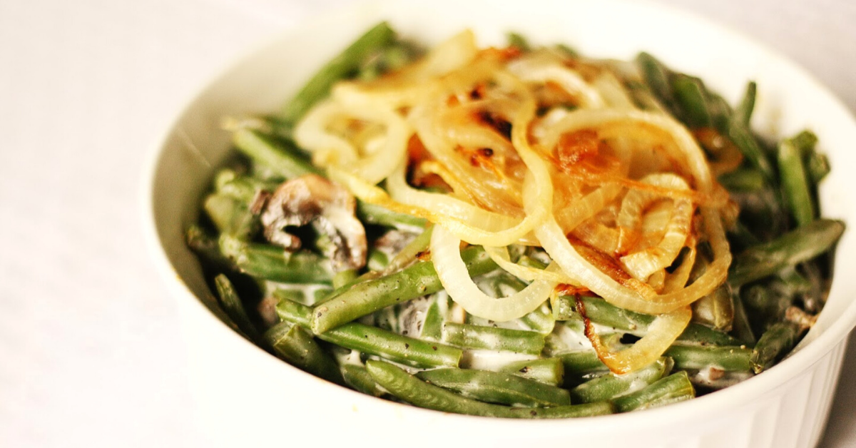 Green Bean Casserole Low Carb Low Fat