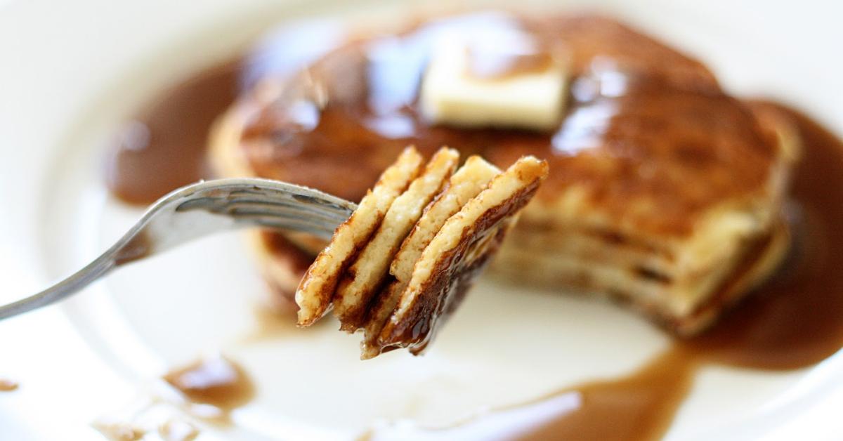 Low Carb Pancake Stack
