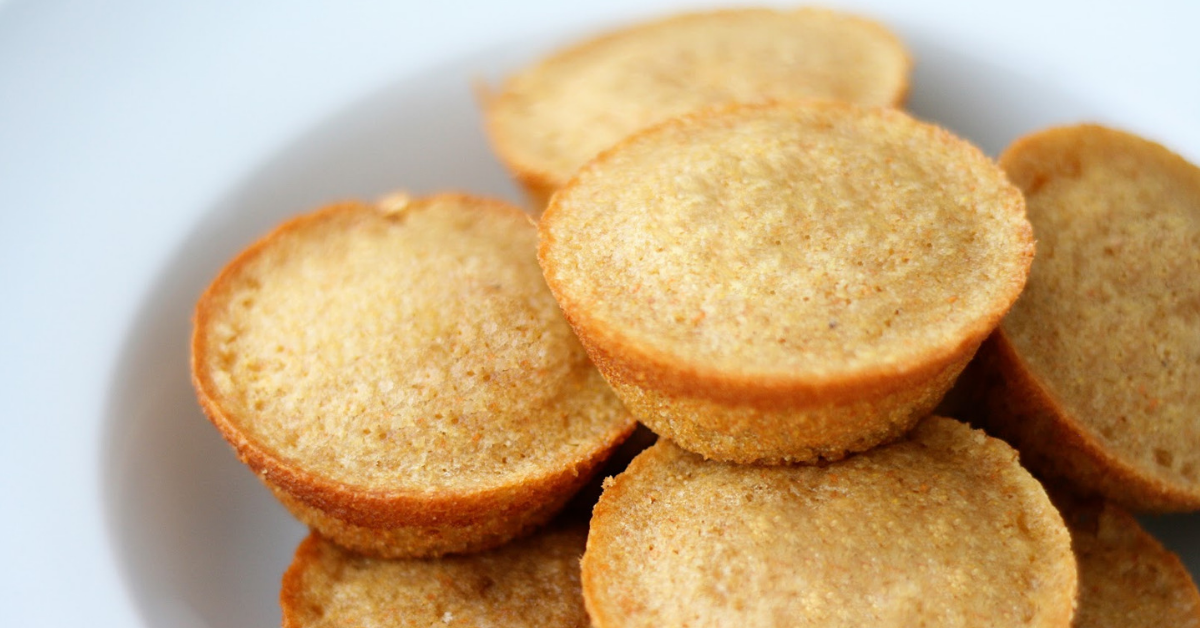 Low-carb corn muffins