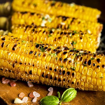Corn Grilled Naked