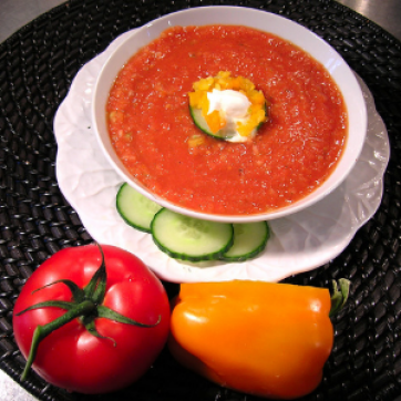 Low-carb Gazpacho