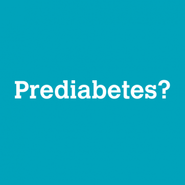 Take The Prediabetes Test