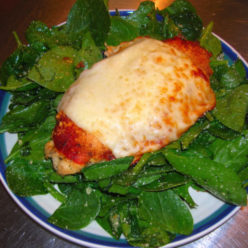 Chef Ward Alper's Chicken Parmesan