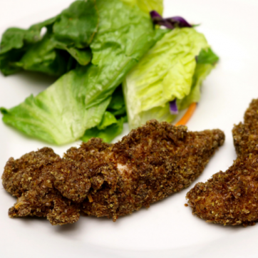 Flaxseed Chicken Strips