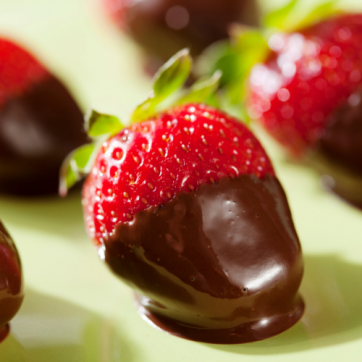 Chocolate-Dipped Foods Recipe